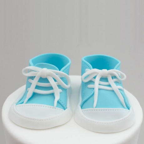 Baby Trainers Cake Topper