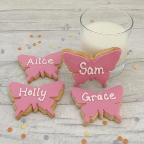 Personalised Butterfly Cookie Favours