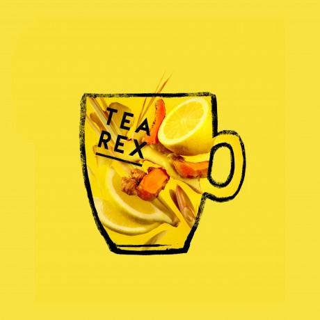 Wakey Wakey Rise & Rawr - Turmeric & Lemon Raw Tea