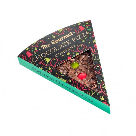 Pack of 2 Christmas Chocolate Pizza Slices