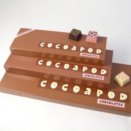Merry Christmas Chocolates with Personalised Names