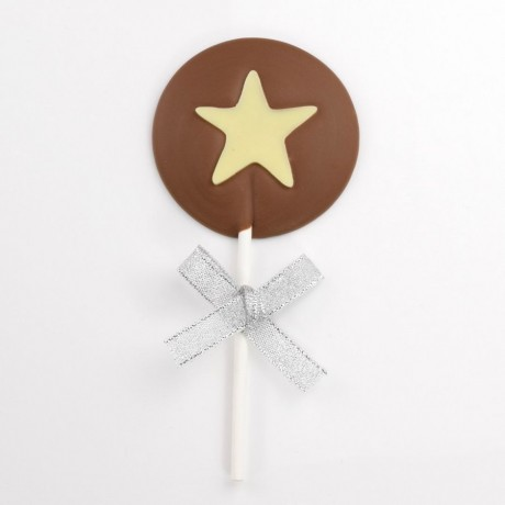 Chocolate Star Lollies