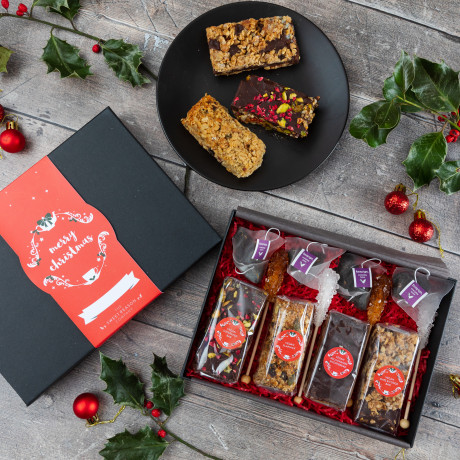 Christmas Afternoon Tea for Four Gift Box