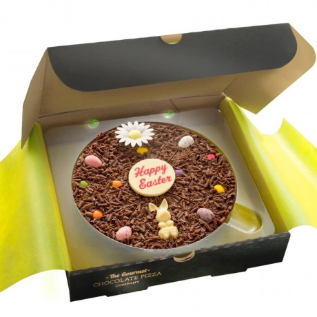 """7"""" Easter Chocolate Pizza"""