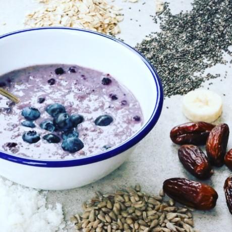 Blueberry & Banana Instant Porridge