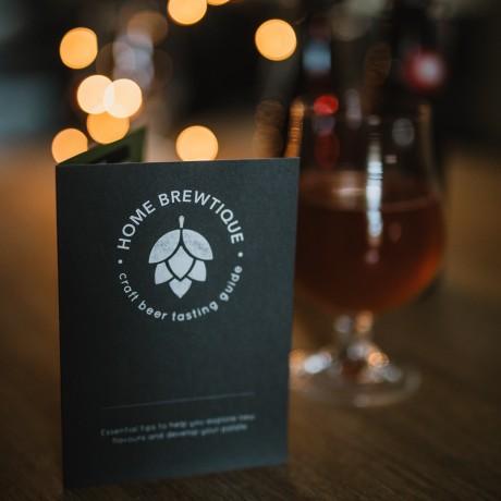 Detailed Beer Tasting card