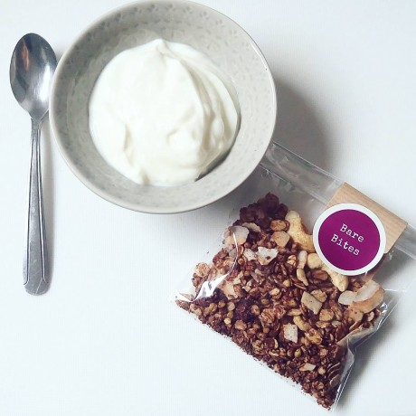 Cacao and Raspberry Granola