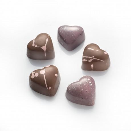 Mini Chocolate Love Hearts