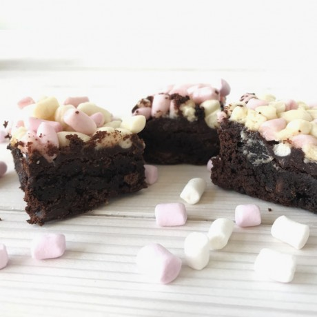 vegan-marshmallow-brownie