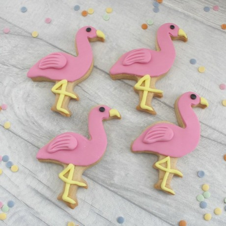 Flamingo Iced Cookies/Favours