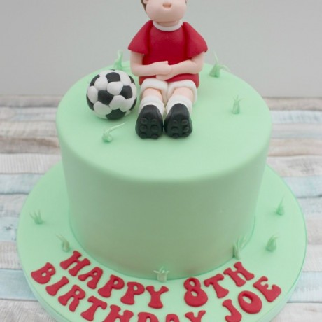 Football Cake Topper