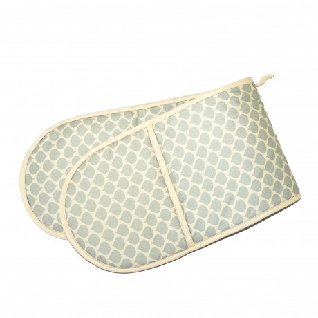 Grey Spot double oven glove