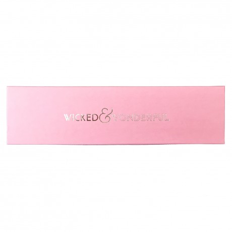 Pink embossed gift box