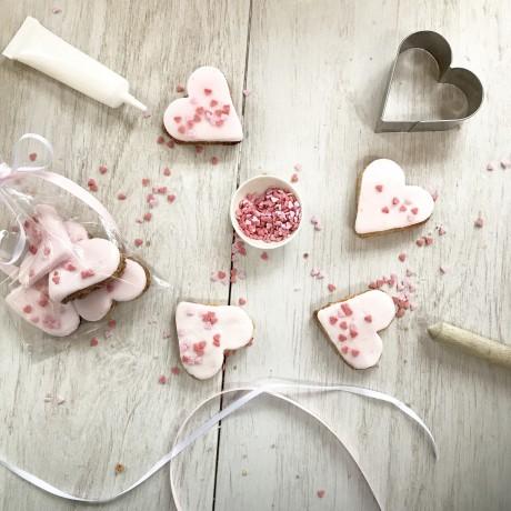 Valentines biscuit gift