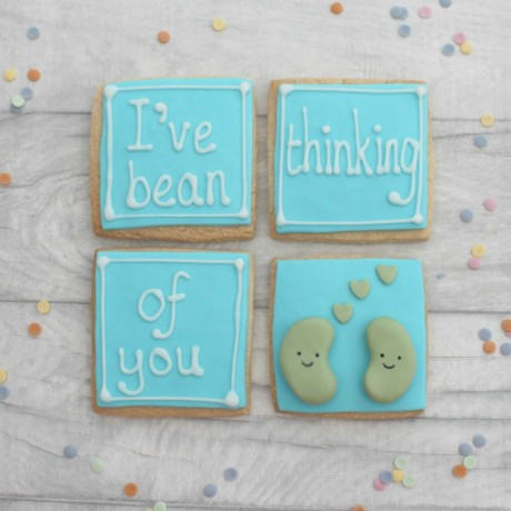 I've Bean Thinking of you Cookie Gift