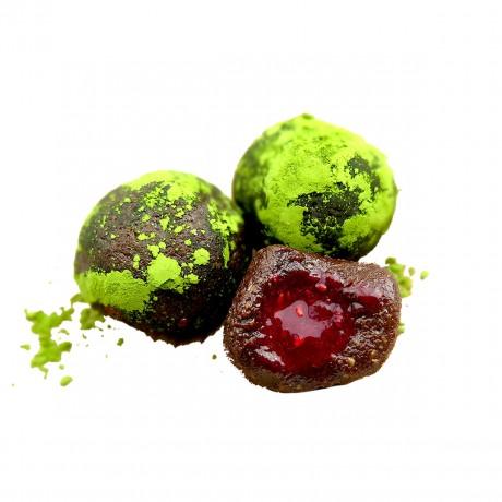 Matcha & Raspberry Energy Balls
