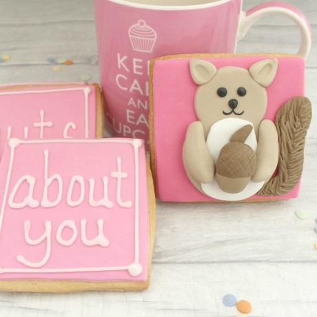 I'm Nuts About You Valentine's Cookie Set