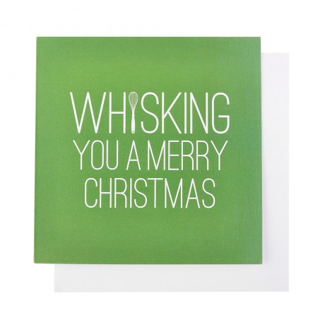 Whisking You A Merry Christmas Card