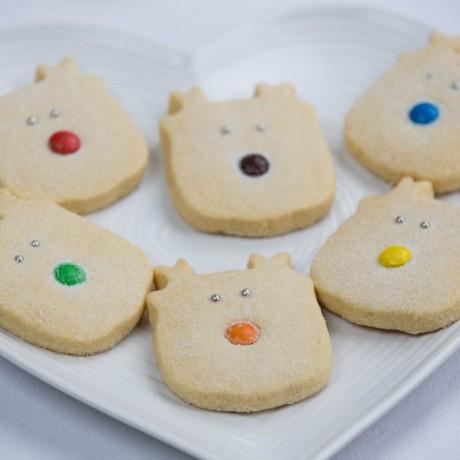Rudolf & Friends - Christmas Reindeer Shortbread Set