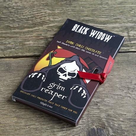 Black Widow Chilli Dark Chocolate Bar
