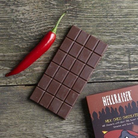 Hellraiser Chilli Milk Chocolate Bar