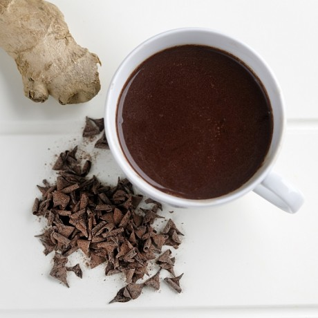 Warming Ginger Drinking Chocolate