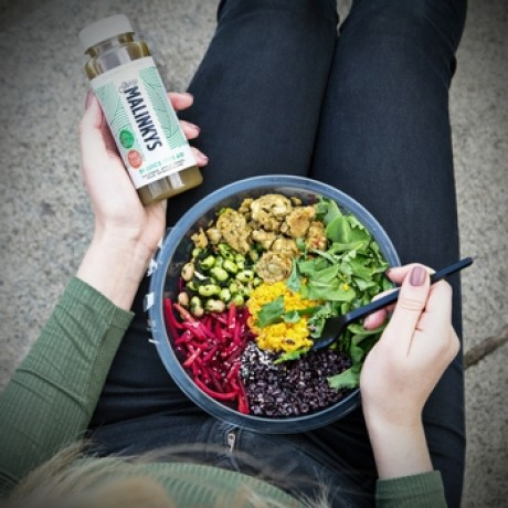 Cold pressed juice - perfect with a healthy lunch