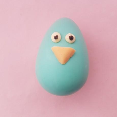 Birdy Egg Head Chocolate Easter Character