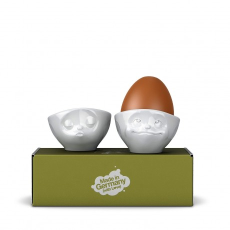 Kissing & Dreamy Egg Cups with Gift Box
