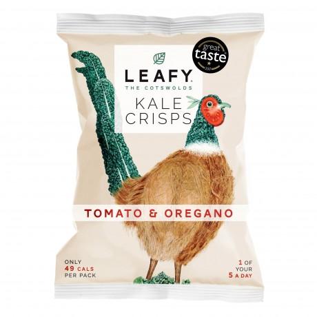 Vine Ripened Tomato & Oregano Kale Crisps