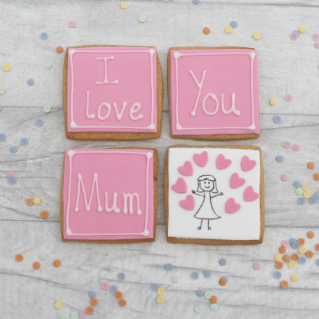 I Love You Mum Cookie Gift