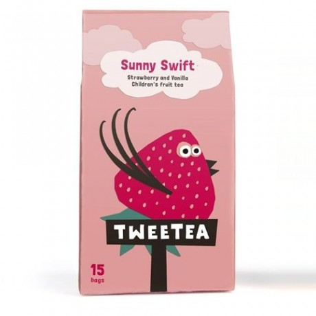 Sunny Swift - Strawberry & Vanilla Children's Fruit Tea (4 Pack)