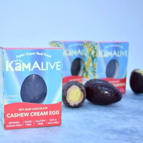 The Cashew Cream Egg (Pack of 3) - Vegan, Free From, Raw