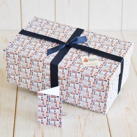 Premium Traditional Hamper The British Hamper Company Packaging