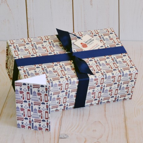 Traditional Treats Hamper Packaging