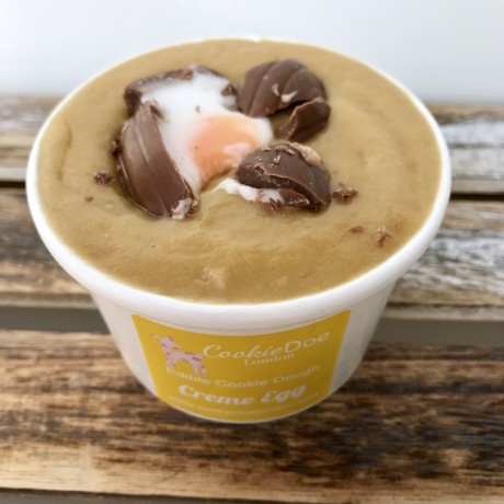 Easter Creme Egg Cookie Dough Tub