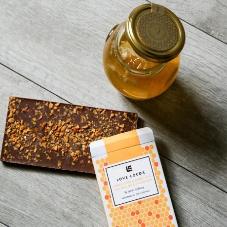 Honeycomb & Honey Milk Chocolate