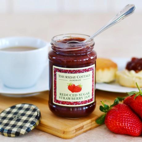 Thursday Cottage Reduced Sugar Jam The British Hamper Company