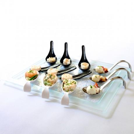 Glass Effect Serving Platter