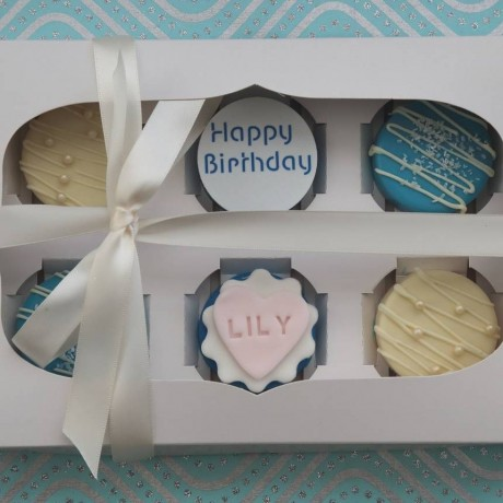 Personalised Chocolate Covered Oreos Gift Box