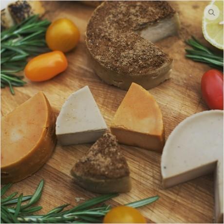 Vegan Cashew Nut Cheese Trio