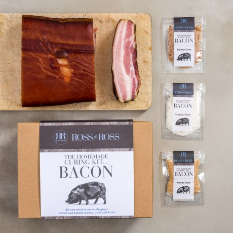 The Homemade Bacon Curing Kits Gift Box - Original & Spicy