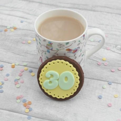 Milestone Birthday Doily Cookie Set