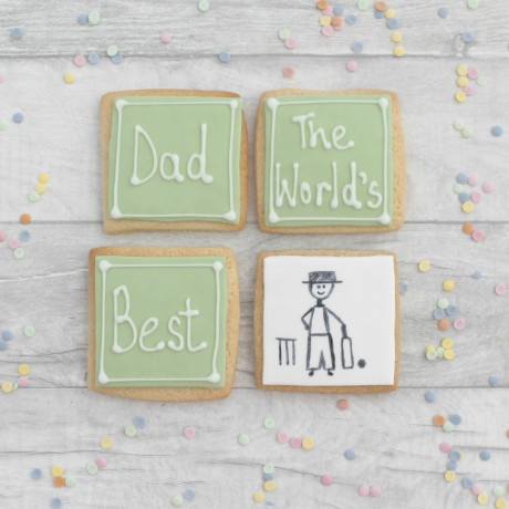 World's Best Cricketer Father's Day Cookies
