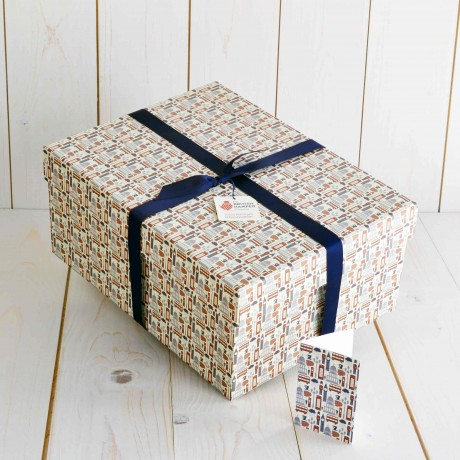 Extravagance Traditional Hamper The British Hamper Company Packaging