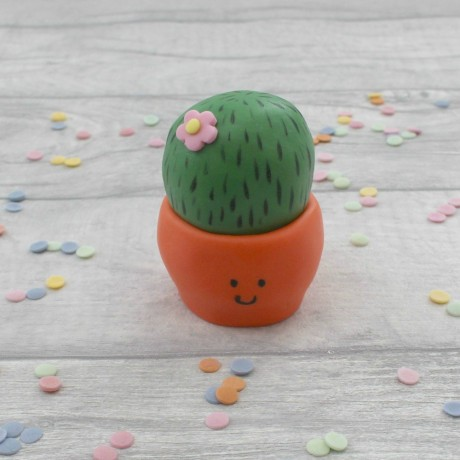 Cacti cake toppers
