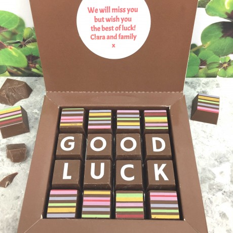 cocoapod good luck chocolates
