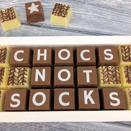 cocoapod chocs not socks