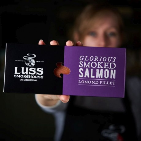 The Lomond Smoked Salmon Fillet