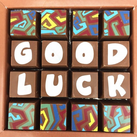 cocoapod good luck chocolates